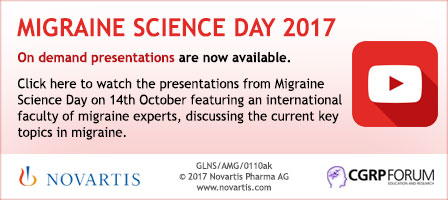 Migraine Science Day 2017