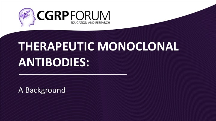 Therapeutic monoclonal antibodies: A background